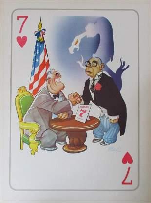 Arias Bernal - 1941 - Roosevelt Dec. 7th Poster