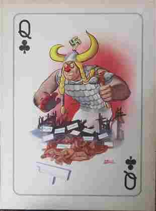 Arias Bernal - Hitler's War Machine Poster