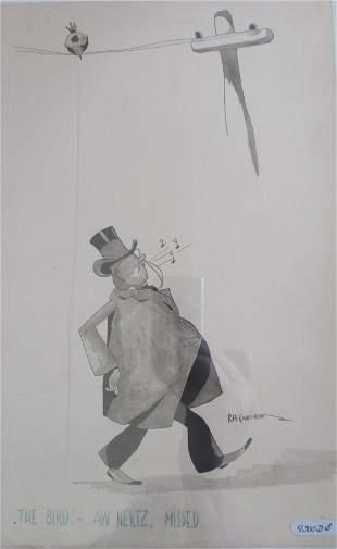 Robert Hartley Cameron (1909 - 1998)  The Bird