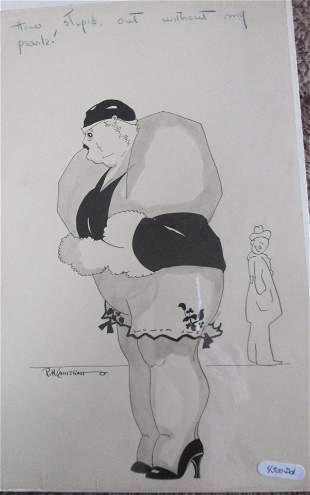 Robert Hartley Cameron (1909 - 1998)  Fat Lady