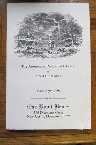 Group of 3 Oak Knoll Book Catalogues Plus 1