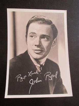 John Beal  RKO Studios Photographs