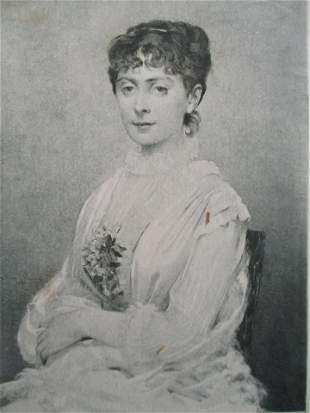 Blanche Baretta - Louise Abbema