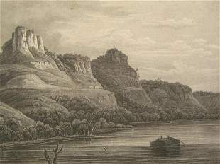 The Eagle Rocks - Mississippi River
