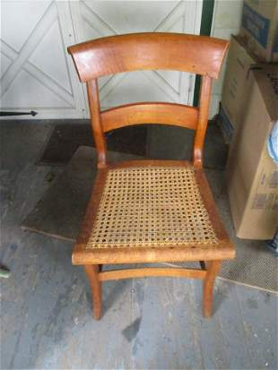19th Century Maple Side Chair