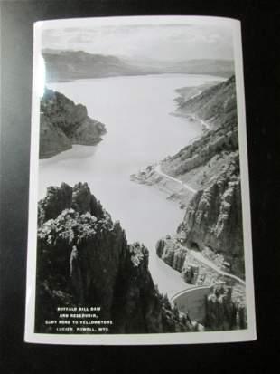 Buffalo Bill Dam   Yellowstone -  Albert G. Lucier