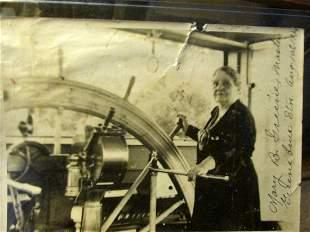 Mississippi River Boat Captain Mary Greene