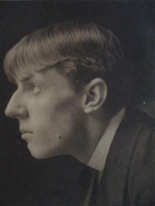Portrait of Aubrey Beardsley - Frederick Evans