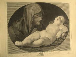 The Virgin Mary and The Infant Jesus - 1765