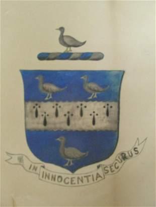 In Innocentia Securus - Original Family Crest