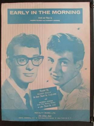 Early In the Morning - Buddy Holly & Bobby Darin