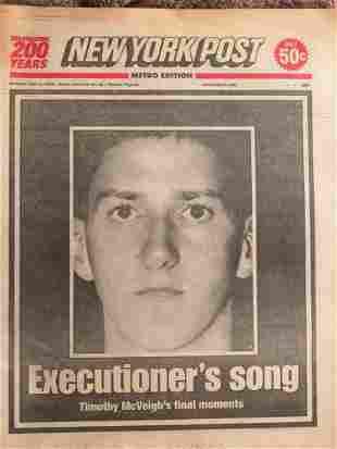 Timothy McVeigh's Execution 06/11/2001