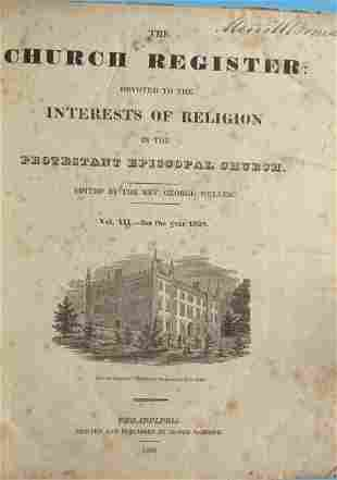 American Church Register  2 Volumes
