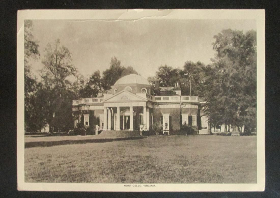 Monticello, Virginia - Home of Thomas Jefferson