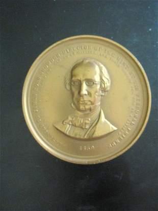 1859 James Ross Snowden Mint Medal