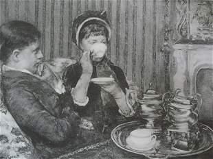 La Tase de The - Mary Cassatt