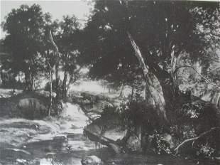 La Foret de Fontainebleau - Jean Baptiste Corot