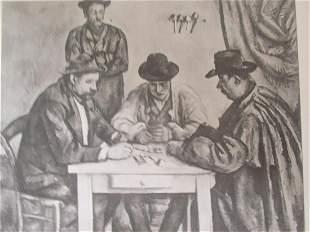Les Jouurs de Cartes - Paul Cezanne