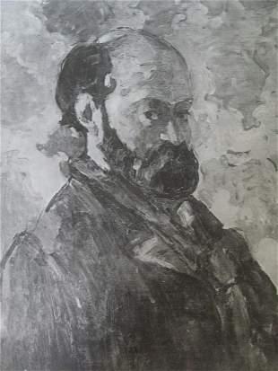 Portrait de l'artiste par lui-meme - Paul Cezanne