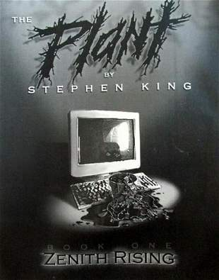 Stephen King -The Plant: Book One, Zenith Rising - RARE