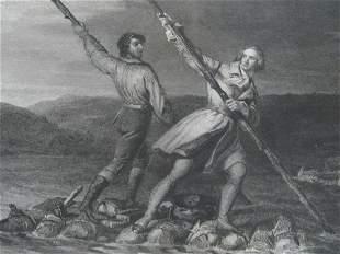 George Washington Crossing the Allegheny 1753