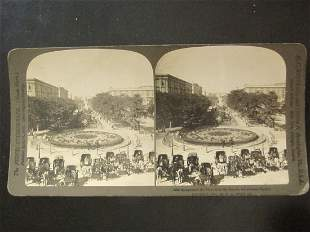Stereoview Mohammed Ali Place In Egypt