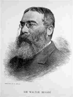 Portrait of Sir Walter Besant