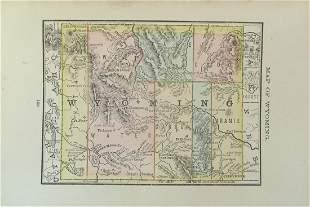 Map of Territory of Wyoming
