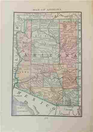 Map of Territory of Arizona