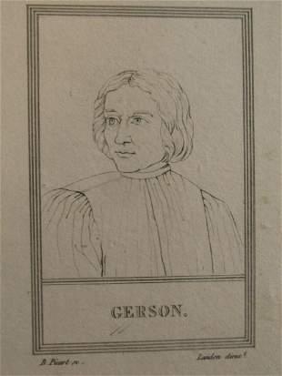 Jean Charlier de Gerson ( 1363 – 1429)