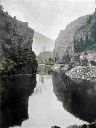 Grand River - William Henry Jackson (1843 - 1942)