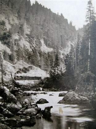 Eagle River - William Henry Jackson (1843 - 1942)