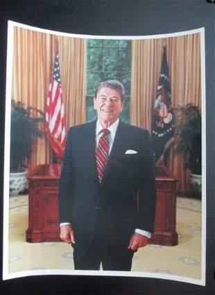 President Ronald Reagan - Michael Evans Photograph