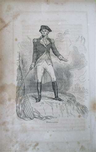 George Washington (Early wood engraving)