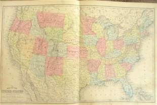 Map of the United States Plus Another