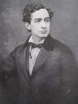 Portrait of Edwin Booth
