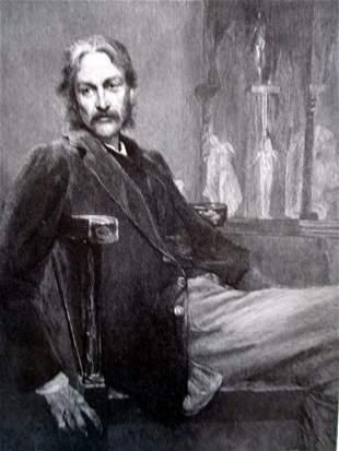 Portrait of Andrew Lang
