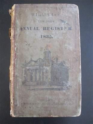 The New York Annual Register 1835