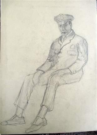 Alan Howard (1923 - 2008) Police Officer