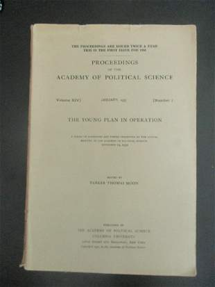 The Young Plan In Operation