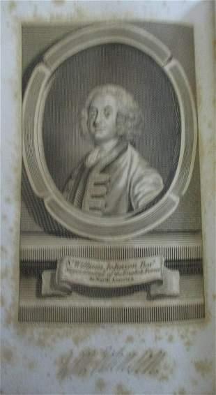 Sir William Johnson Bar - Major of English Forces