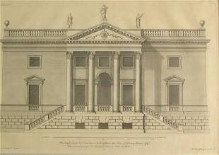 East Front of Stourhead - Henry Hoare Esq