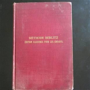 Methode Berlitz Illustrated for Infants 1912