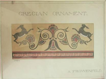 Grecian Ornament - A. Frowenfeld - 1912