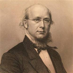 Portrait of Horace Greeley