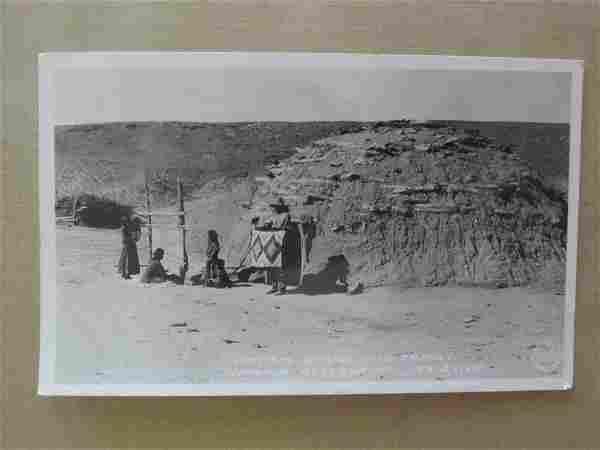 Navajo Hogan and Family Arizona