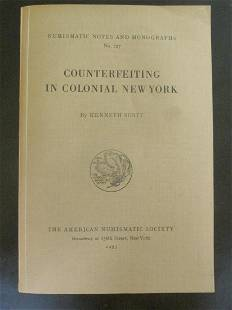 Counterfeiting In Colonial New York