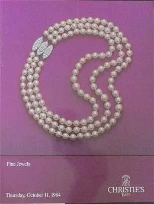Christie's Fine Jewels Auction Catalogue