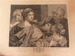 John the Baptist's Head - 1767 - Old Master