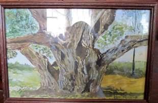 Old Oak Tree - T. W. Graham [American School]